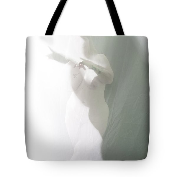Shaped Shadows Tote Bag by Scott Sawyer