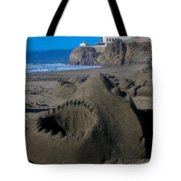 Shark Sculpture Tote Bag by Garry Gay
