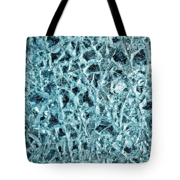 Shattered Glass Tote Bag by Tom Gowanlock