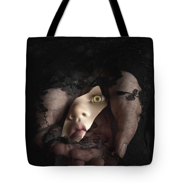 Shattered Into Pieces Tote Bag by Margie Hurwich