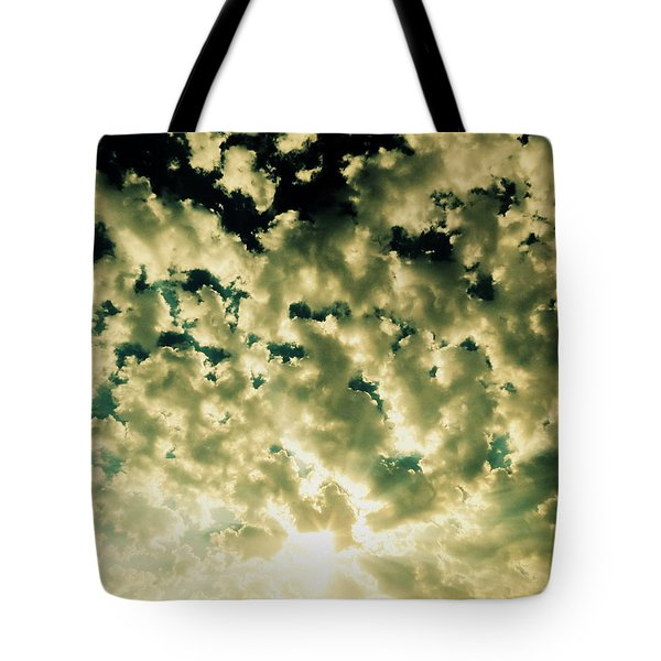 Shattered Tote Bag by Ramona Johnston