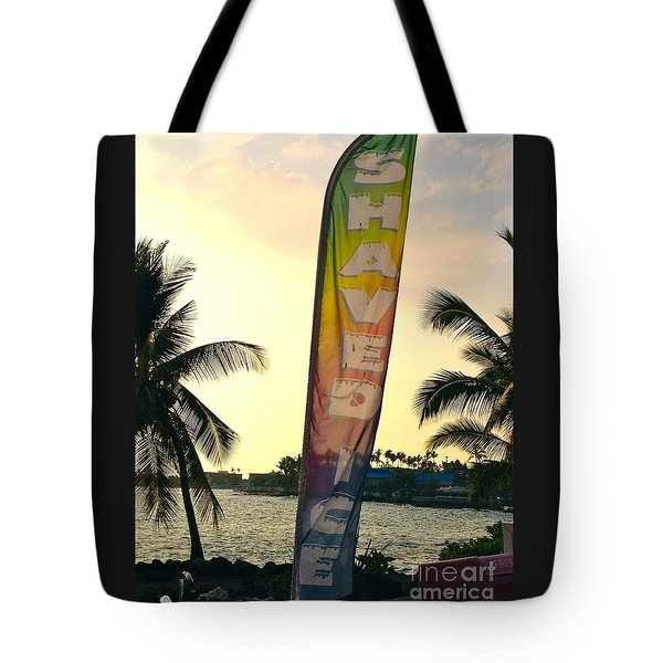 Shaved Ice Tote Bag by Beth Saffer