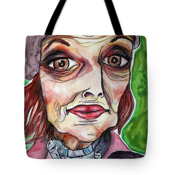 She Once Was Tote Bag