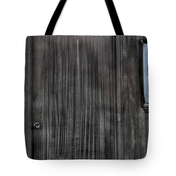 Tote Bag featuring the photograph Shed by Zawhaus Photography