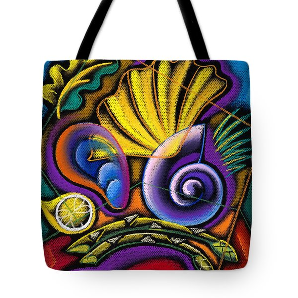 Shellfish Tote Bag by Leon Zernitsky