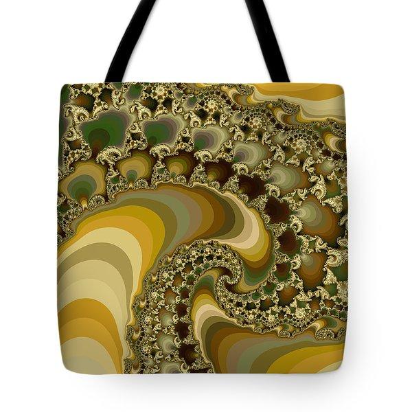 Shells On Sand II Tote Bag