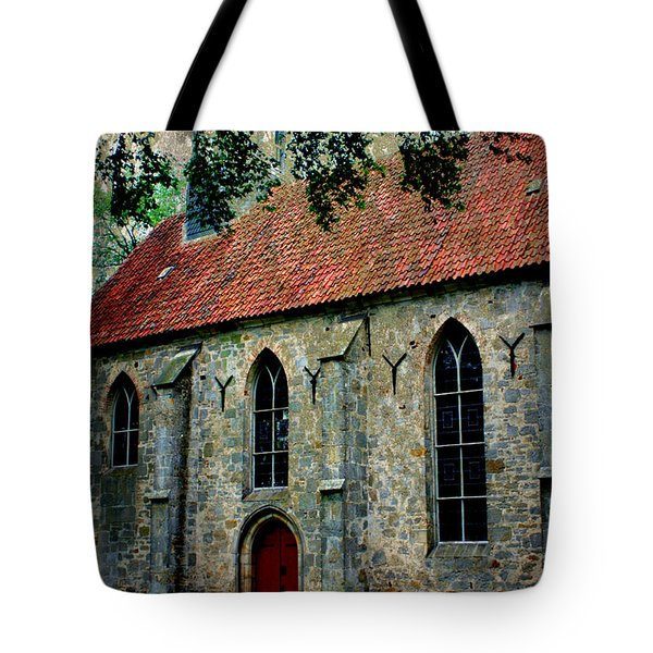 Shelter From The Storm Tote Bag by Carol Groenen