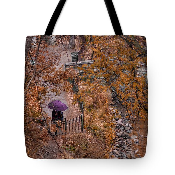 Tote Bag featuring the photograph Alone Together by Tom Gort