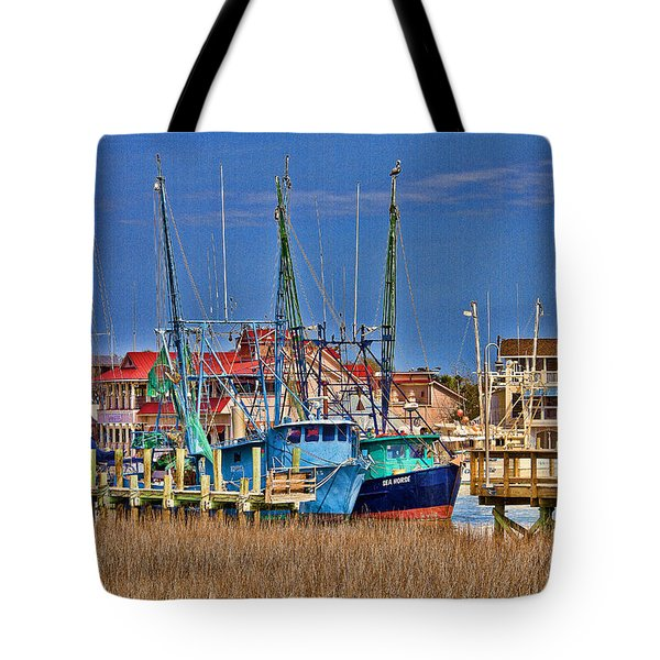 Shem Creek Shrimpers Tote Bag