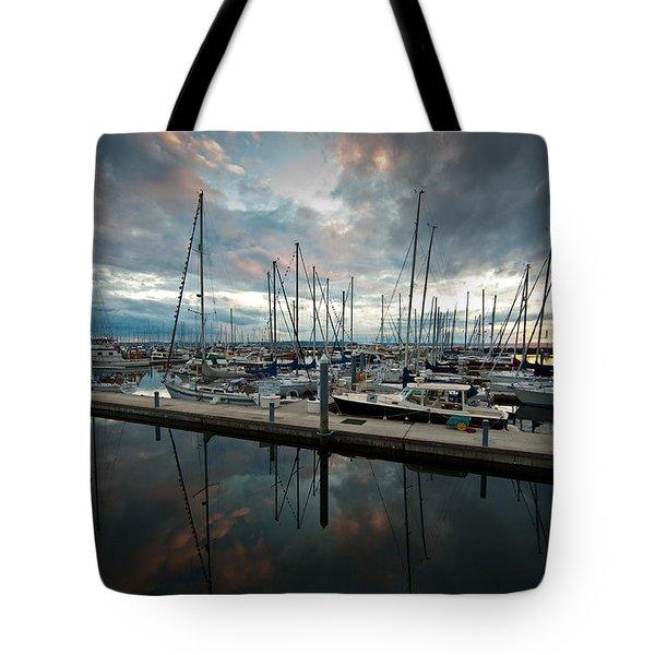 Shilshole Marina Tranquility Tote Bag