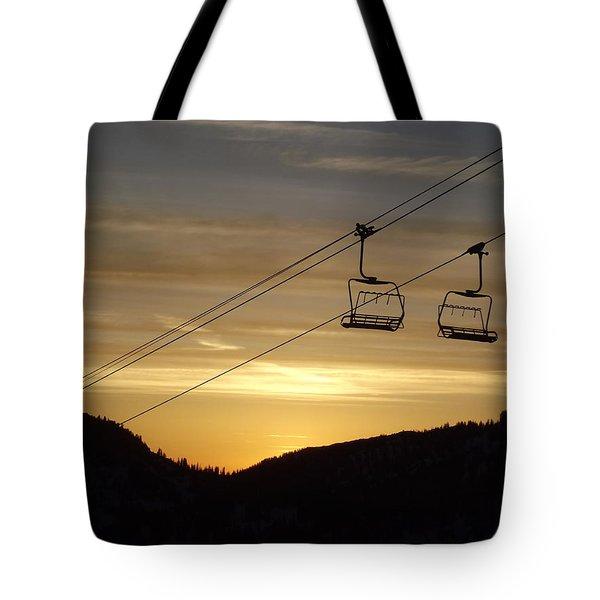 Shining Tote Bag by Michael Cuozzo