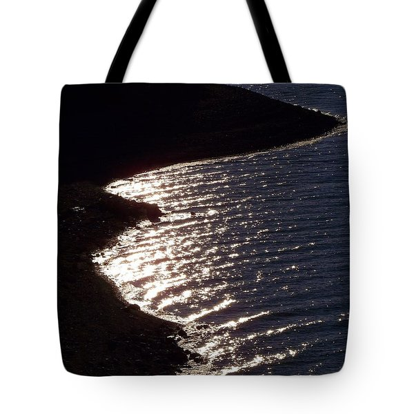 Shining Shoreline Tote Bag
