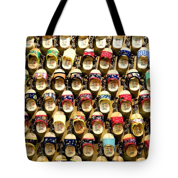 Tote Bag featuring the photograph Shoes by Yew Kwang