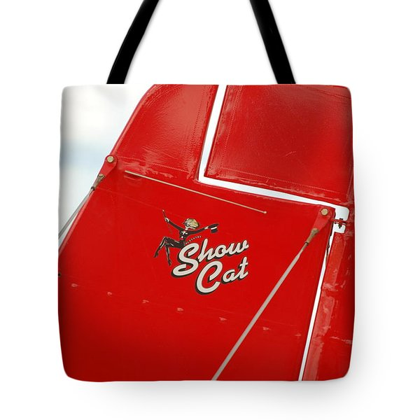 Show Cat Tote Bag by Randy J Heath