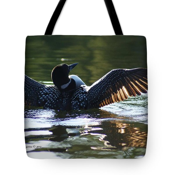 Showing Off Tote Bag by Steven Clipperton