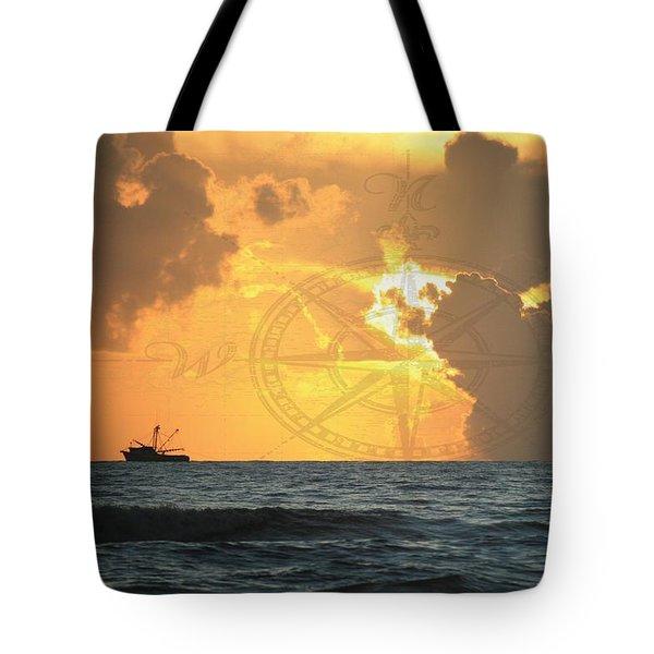 Shrimp Boast Sunrise II Tote Bag