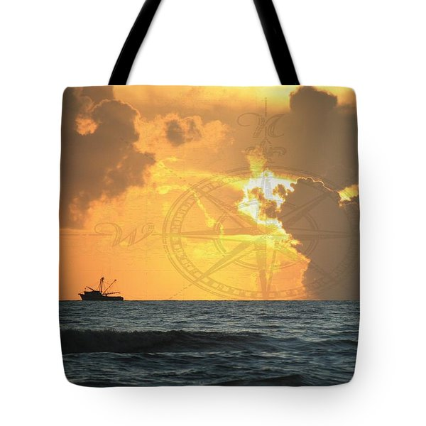 Shrimp Boast Sunrise II Tote Bag