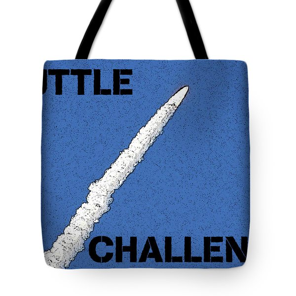 Shuttle Challenger  Tote Bag by David Lee Thompson