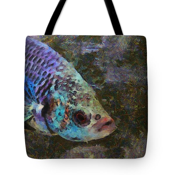 Siamese Fighting Fish Tote Bag