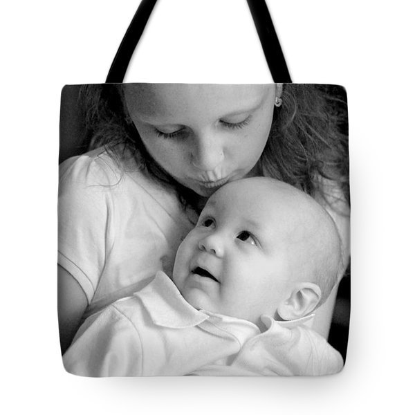 Sibling Love Tote Bag by Lisa Phillips