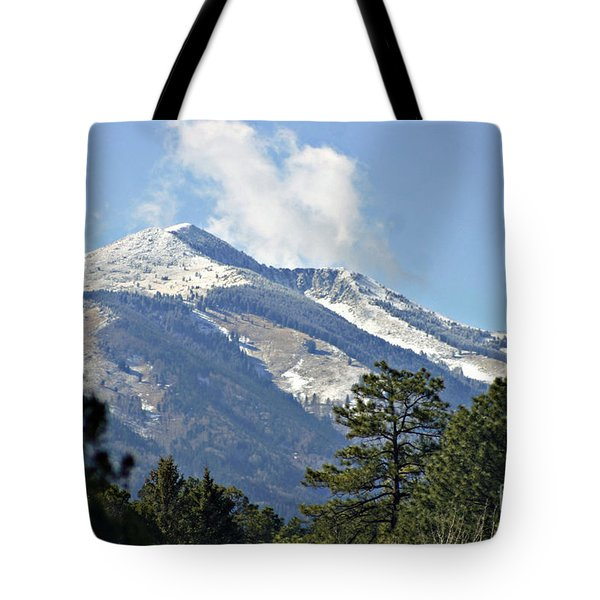 Sierra Blanca Clouds 3 Tote Bag