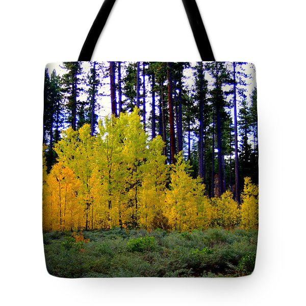 Sierra Forest Tote Bag