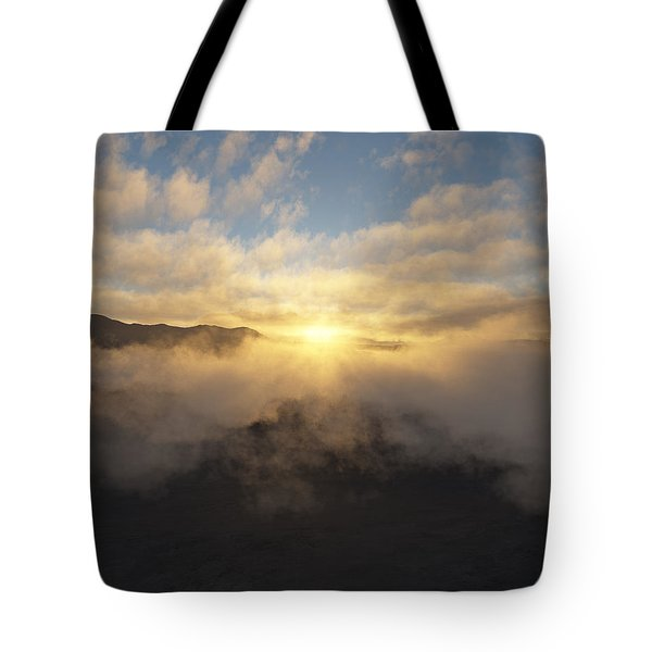 Sierra Sunrise Tote Bag