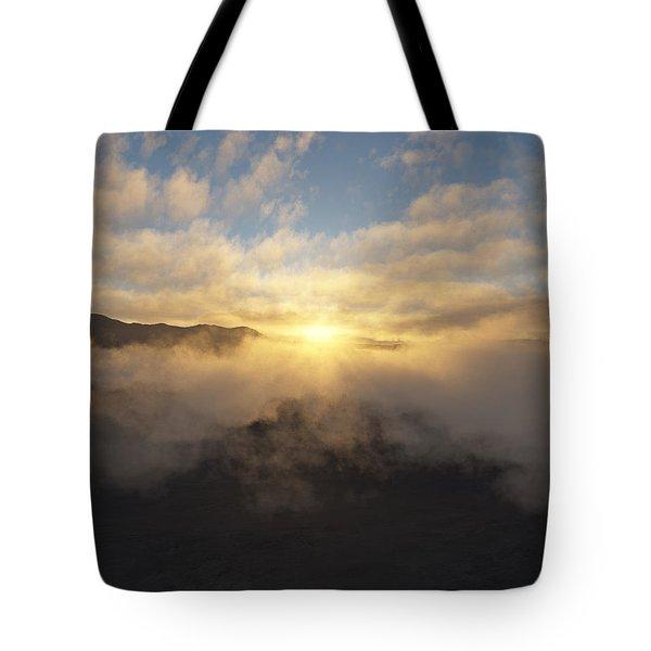 Sierra Sunrise Tote Bag by Mark Greenberg