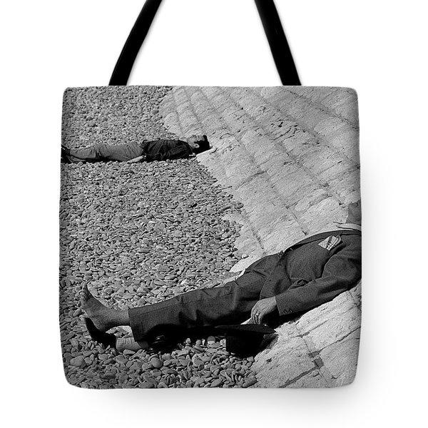 Siesta In Nice Tote Bag by Michael Mogensen
