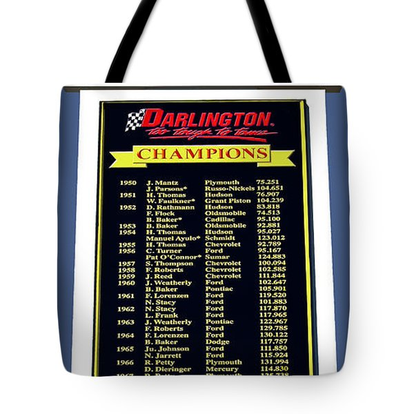 Sign Of Champions Tote Bag by DigiArt Diaries by Vicky B Fuller