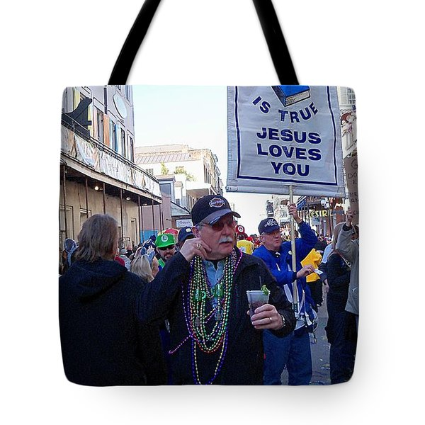 Tote Bag featuring the photograph Signs by John  Kolenberg