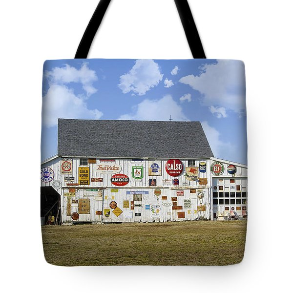Signs Of The Times Tote Bag by Brian Wallace