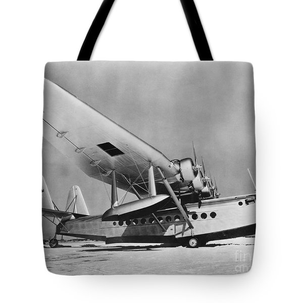 Sikorsky S-42 Tote Bag by Photo Researchers
