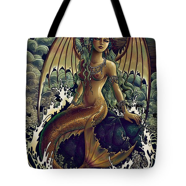 Silence After Storm Tote Bag by Caroline Jamhour