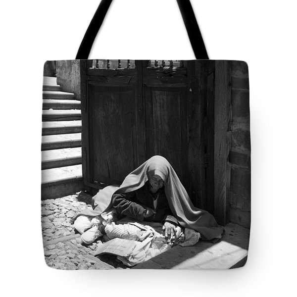 Silent Desperation Tote Bag