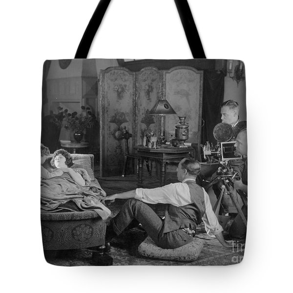 Silent Film Set, 1920s Tote Bag by Granger