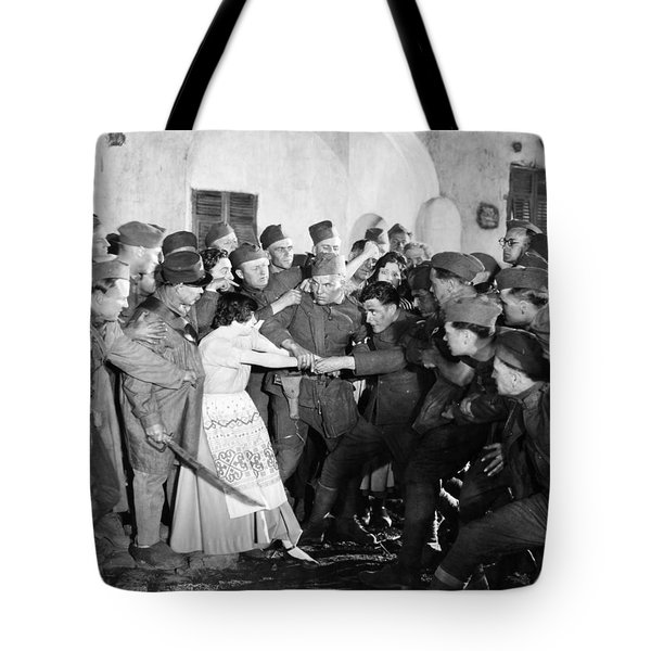 Silent Still: Army & Navy Tote Bag by Granger