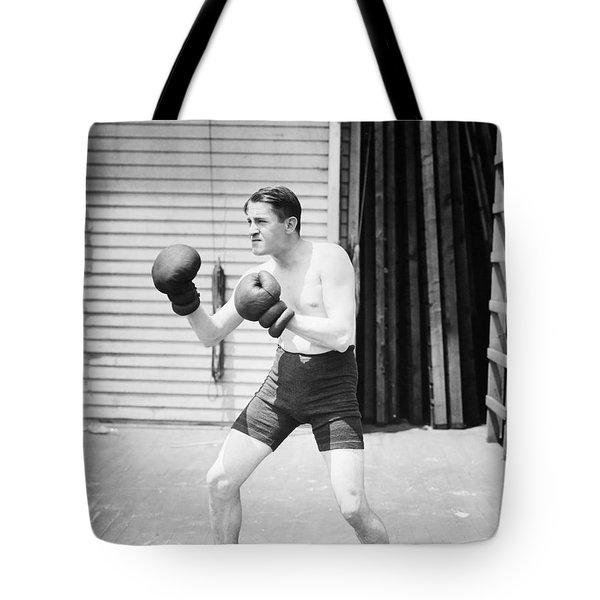 Silent Still: Boxer Tote Bag by Granger