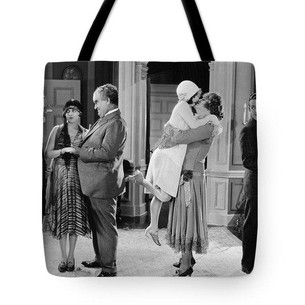 Silent Still: Man In Drag Tote Bag by Granger