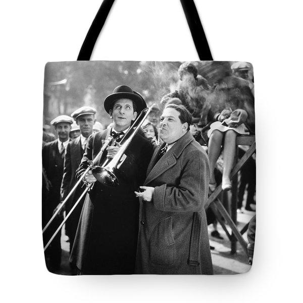 Silent Still: Musicians Tote Bag