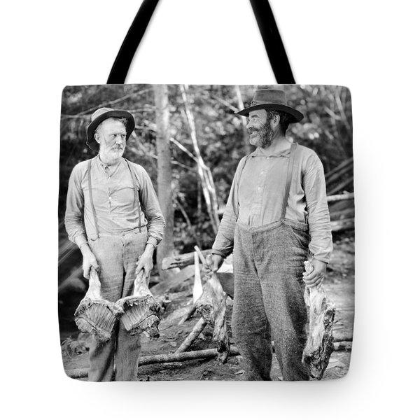 Silent Still: Old People Tote Bag by Granger