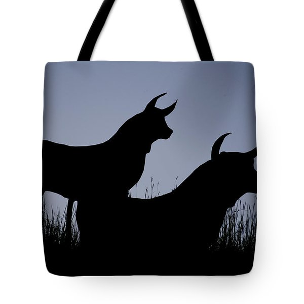 Silhouette Tote Bag by Lisa Plymell