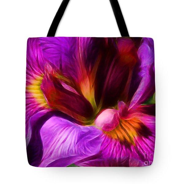 Silk And Satin Tote Bag by Judi Bagwell