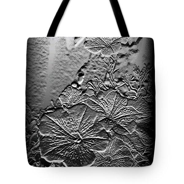 Silver Tote Bag by Karen Harrison