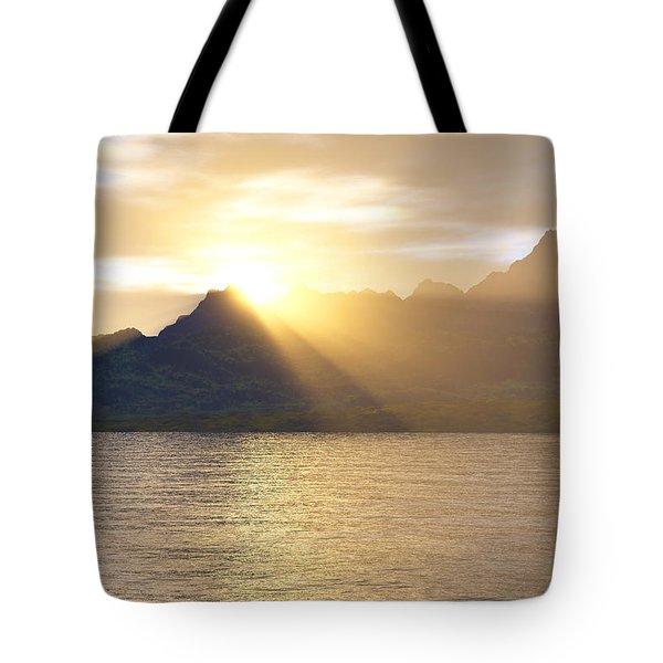 Silver Lake Tote Bag by Mark Greenberg