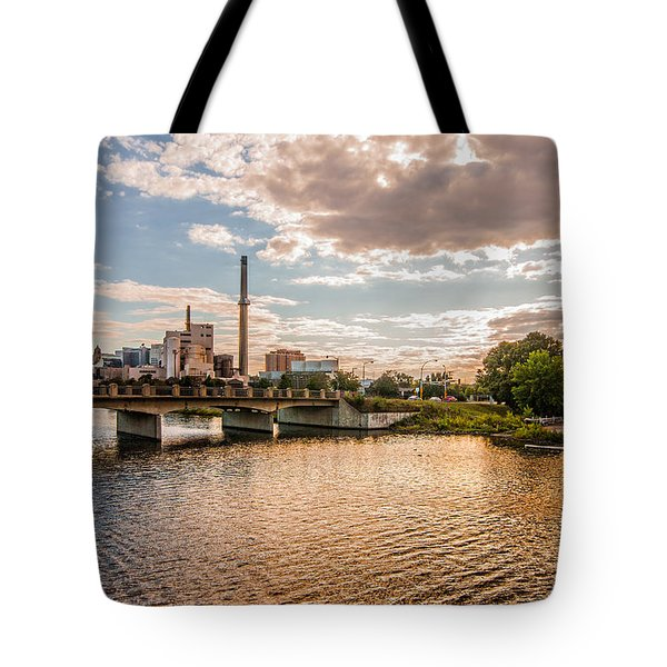 Tote Bag featuring the photograph Silver Lake by Tom Gort