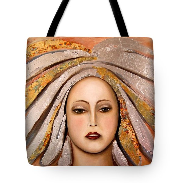 Silver Tote Bag by Leah Saulnier The Painting Maniac