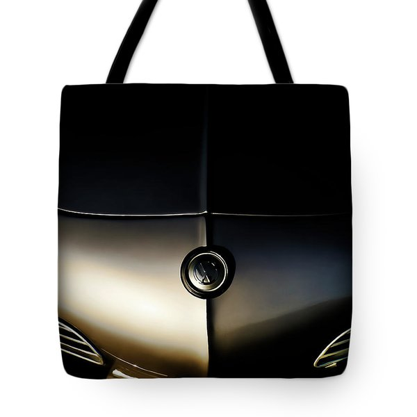Silver Shadow Tote Bag