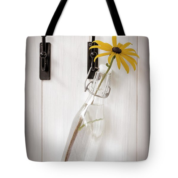 Single Rudbeckia Flower Tote Bag by Amanda Elwell