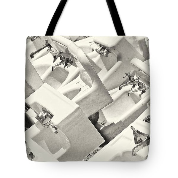 Sinking Tote Bag by Patrick M Lynch